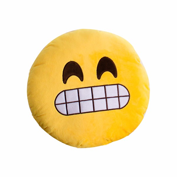 Custom Made Plush Emoji Pillow