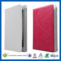 2014 Hot Selling Stylish for ipad mini hybrid book leather case
