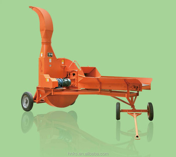 diesel engineer driven Ensiling chaff cutter agricultural