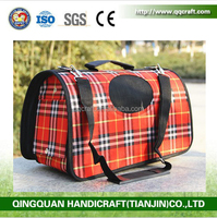 QQ Pet Factory Pet Carriers For Dogs Expandable Pet Carrier Bag
