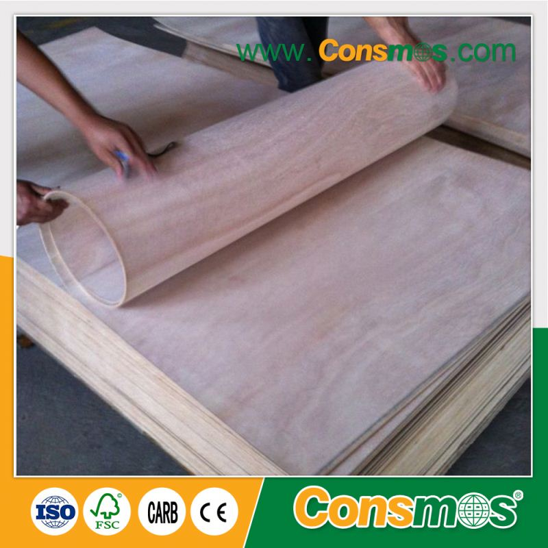 china factory decorative e0 hot bending plywood