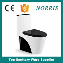 factory wholessale S-trap 300mm sanitary wc siphonic toilet color