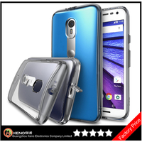 Keno for Moto G3 Crystal Plastic Clear Transparent Phone Case, for Moto G3 Polycarbonate PC Case
