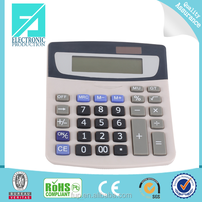 Fupu mini standard function solar power desktop calculator