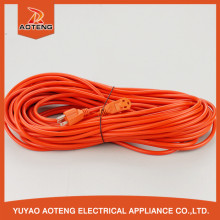 American SJT 3X18AWG orange power 100m extension cable