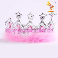 Pink Fashion Custom Star Tiara Crown for Kids