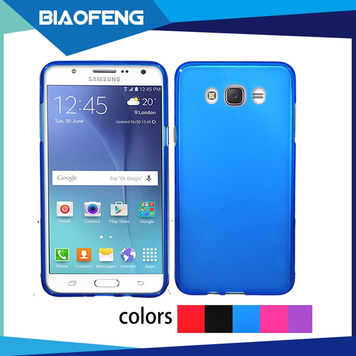 Bulk buy from china skin feel soft tpu back cover phone case for samsung galaxy j7/j7 2016 j710