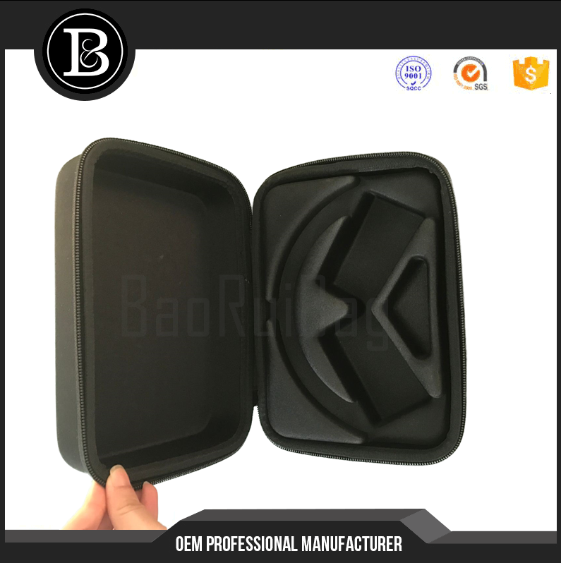 Hard Shell Headphohe Carrying Case for Headset Travel Bag with Space for Cable and Accessories