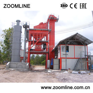 China manufacturer batch mix asphalt plant 40-320t/h hot mix bitumen plant