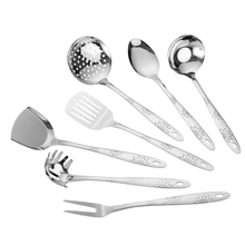 Sunshineflower parten kitchen utensils for cooking spaghetti, cheap price of stainless steel utensils