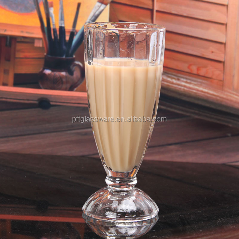 wholesale milkshake glass crystal glass cup juice glass drinking