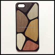 Football Pattern Wooden Case For IPhone 5/5S