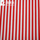 hot sale red white striped fabric