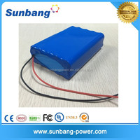 High quality rechargeable 18650 12v 18ah lithium battery for led light system/electonic application