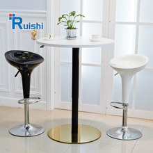Unique Height Adjustable Restaurant Round Coffee Table Bar Furniture