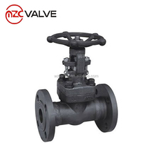 Forged Carbon Steel A105 Gate Valve 300PSI Flanged End