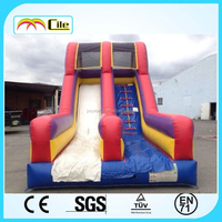 CILE Large Outdoor Inflatable Swimming Pool Slide