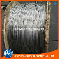 Hot dipped galvanized steel wire strand stay wire guy wire 7/2.0mm