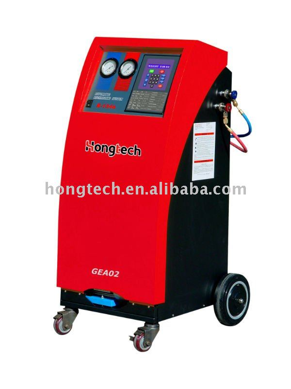car air condition refrigerant recharge recycling machine