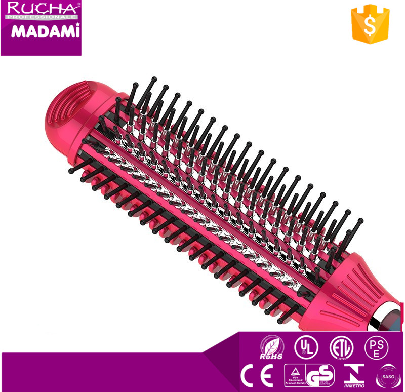DIY 3 in 1 ceramic electronic LCD fast heated Curly waver maker hair straightener roller comb