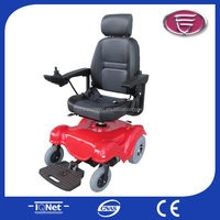 Electric wheel chair motors ce/electric wheelchair in aluminum/power wheelchair for aged light