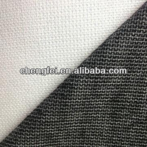 100gsm warp powder dot woven interlining&interfacing