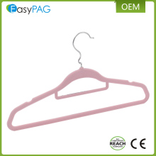 EasyPAG wholesale colorful soft bedroom balcony velvet clothing hangers