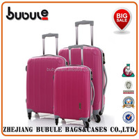 BUBULE 2015 colorful trolley suitcase 20 inch trolley suitcase cheap trolley suitcase