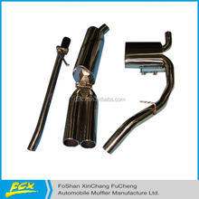 exhaust system with tail tips exhaust system parts exhaust system component
