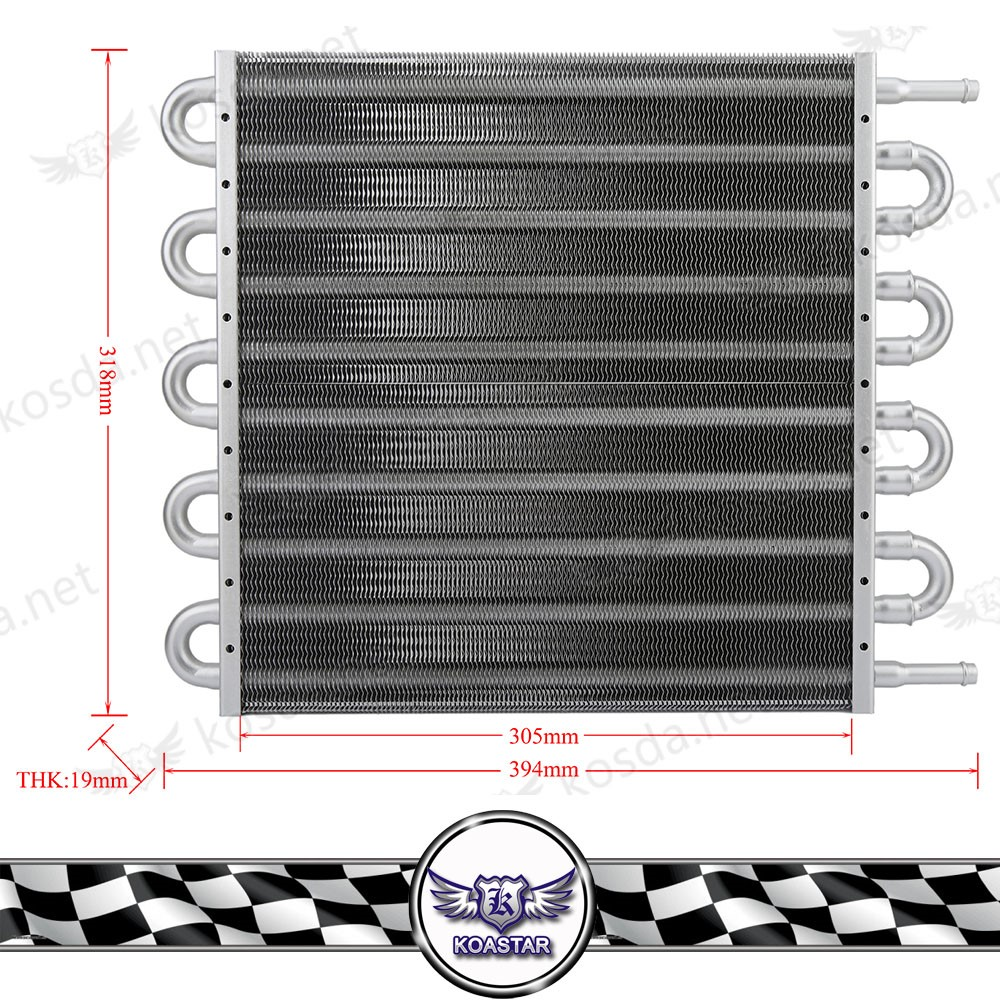 new Racing auto engine radiator Universal 10 Row aluminum transmission Oil Cooler Kit