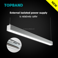 5 years warranty ac100-277v dimmable 115lm/w cul led linear light4ft 30w/40w