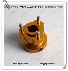 25mm x 62mm CNC Gold Rear Wheel Hub For Go Kart