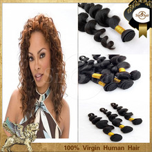 Best Quality Good Price No Shedding mongolian double drawn virgin hair weft