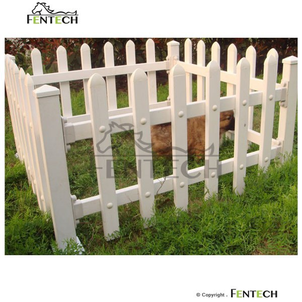 White Widely Used Plastic Temporary Dog Fence