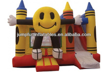 inflatable bounce combo for rental jumping castle slide