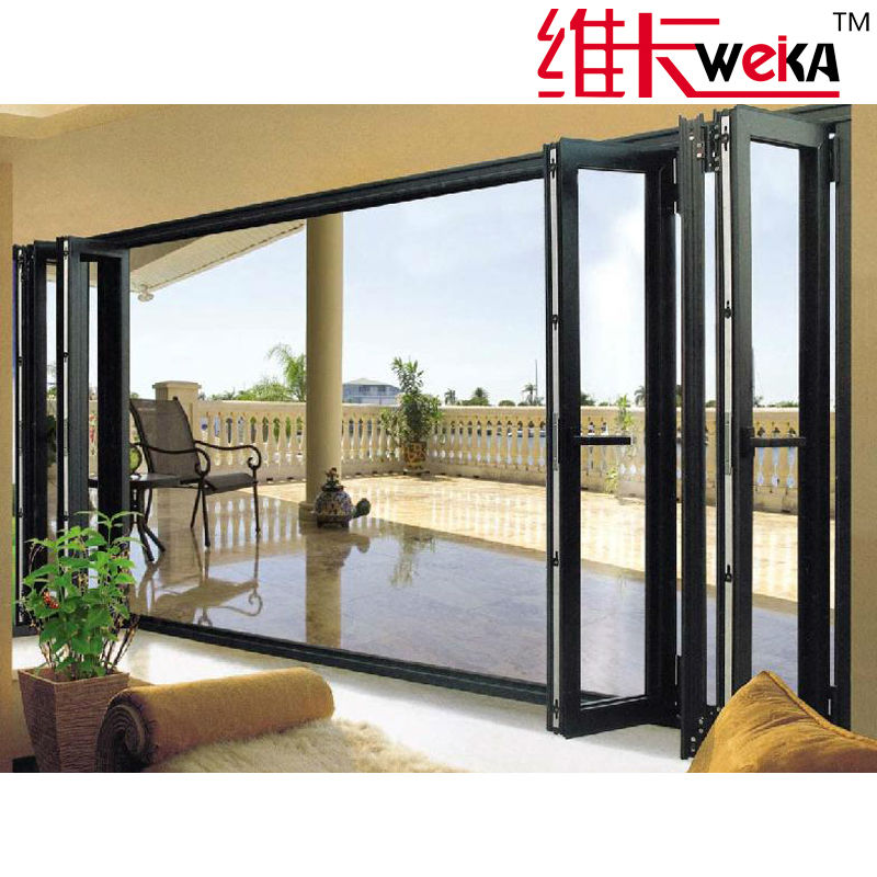 modern aluminum folding patio doors