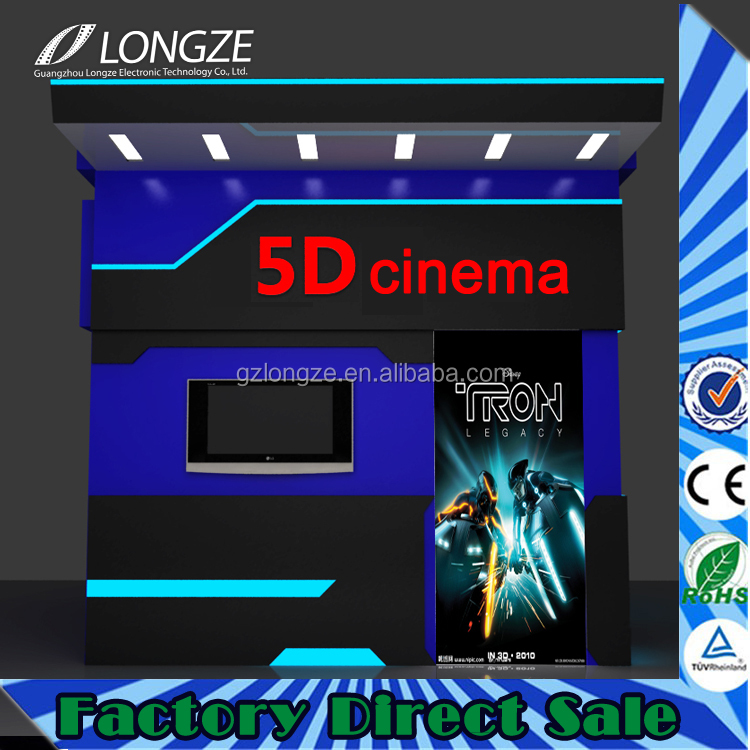 Hot Full Hd Simulator Immersive Sense New Business Idea 3D 4D 5D Theater 5D Cinema In Germany