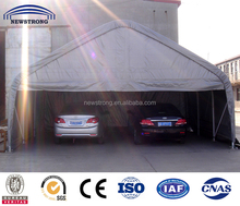 Portable PE PVC Fabric Two Car Garage Tent