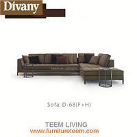 2016 new design modern style luxury sofa italy style luxury living room furniture decorative sofa