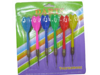 Dart Set, Includes 6 x 12g Zinc-plated Dart and PE Flights
