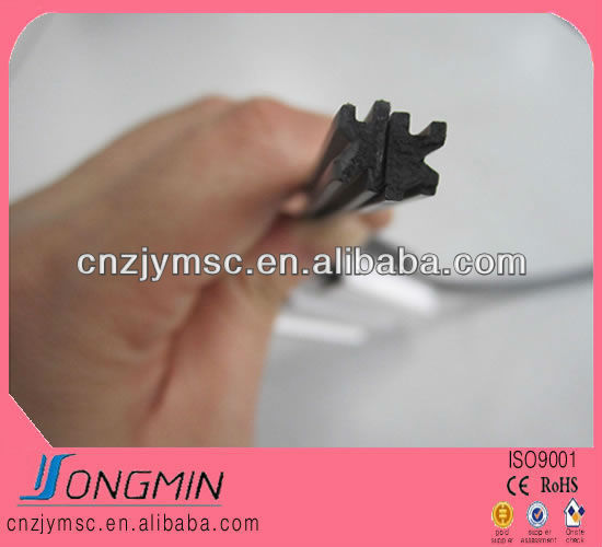 screen window rubber magnetic rubber strip door seal