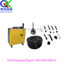 D150 electric snake pipe drain cleaning machine clogged High pressure flushing piping equipment