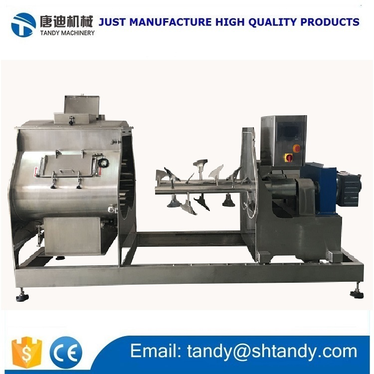 Professional easy to clean chemical powder agitator mixer
