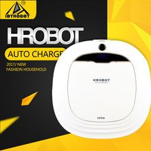 Household robot vacuum cleaner humanized dust bin design