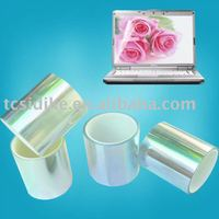 Transparent anti-glare screen protective film