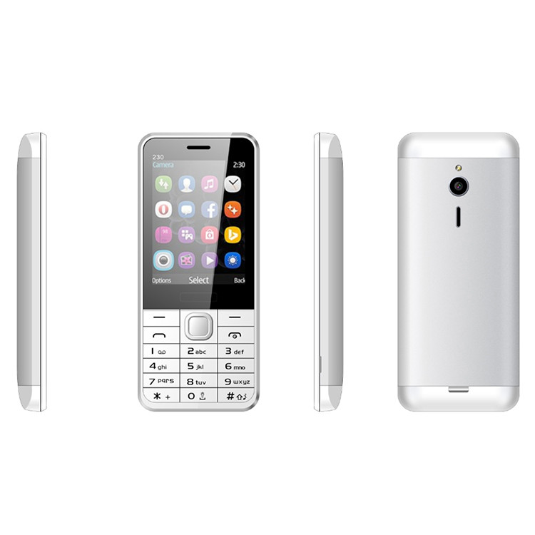 Bar Mobile Phone Manufacturer 2.8 inch 230 Feature Phone OEM