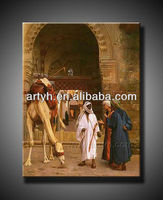 High Quality arabic men oil painting for decor