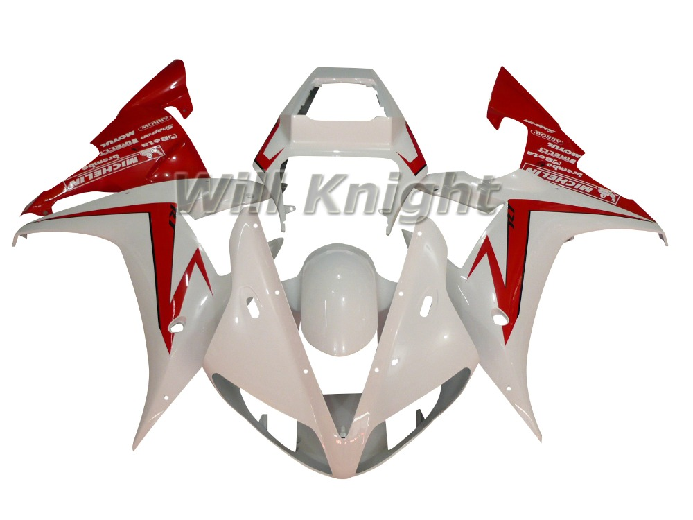 YZFR1 2002 2003 Injection Mold ABS Fairing Set for Yamaha farings YZF1000 2002 2003 R1 YZF R1 02 03 YZF1000 Plastic Body Kits