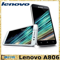 High quality 5.0 inch Lenovo A8 A806 phone 16GB 4G Octa Core MTK6592 1.7GHz 2G RAM 16G ROM Android 4.4 lenovo smartphone