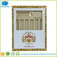 Hot-selling Cardboard Counter Top Display Boxes Wholesale Cardboard Cigar Boxes